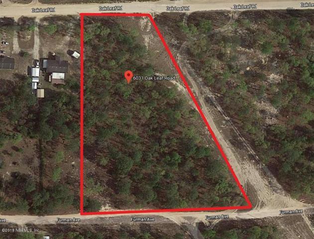 6031 Oak Leaf Rd, Keystone Heights, FL 32656 (MLS #962964) :: Florida Homes Realty & Mortgage