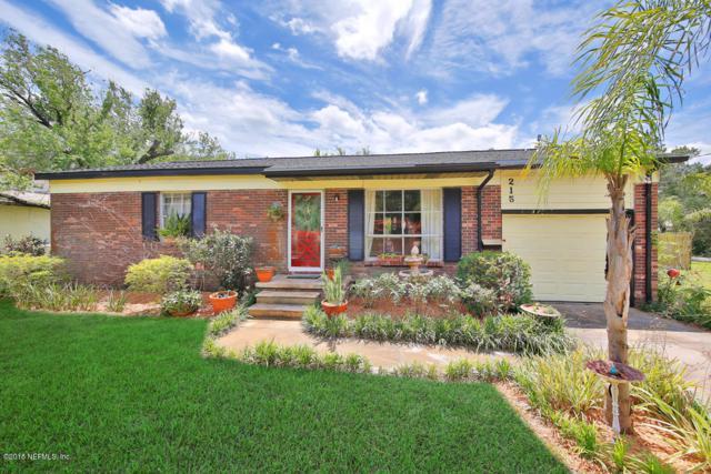 215 E St, St Augustine, FL 32080 (MLS #980089) :: Berkshire Hathaway HomeServices Chaplin Williams Realty
