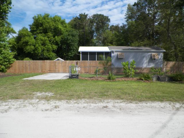 120 Sportsman Rd, Satsuma, FL 32189 (MLS #985113) :: Jacksonville Realty & Financial Services, Inc.