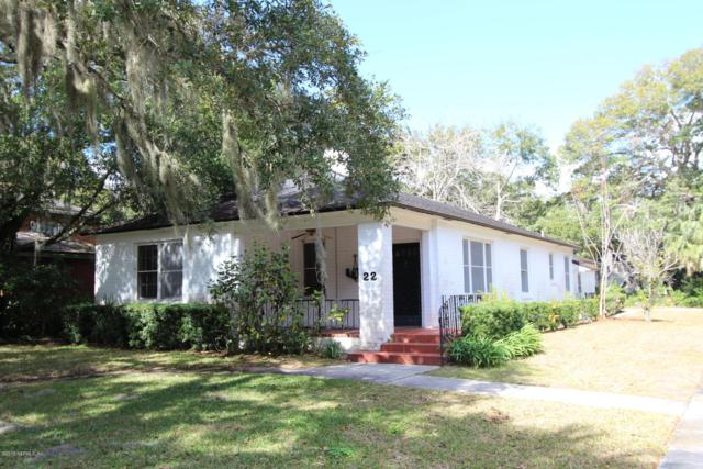 22 Nelmar Ave, St Augustine, FL 32084 (MLS #989365) :: The Hanley Home Team