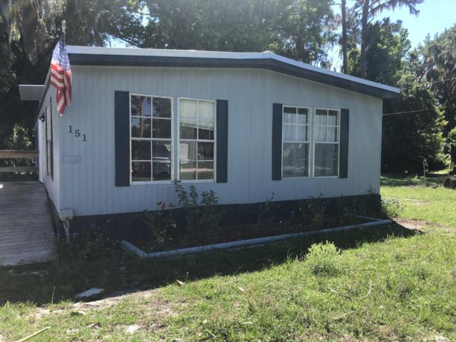 151 S Lake George Dr, Georgetown, FL 32139 (MLS #990055) :: The Hanley Home Team