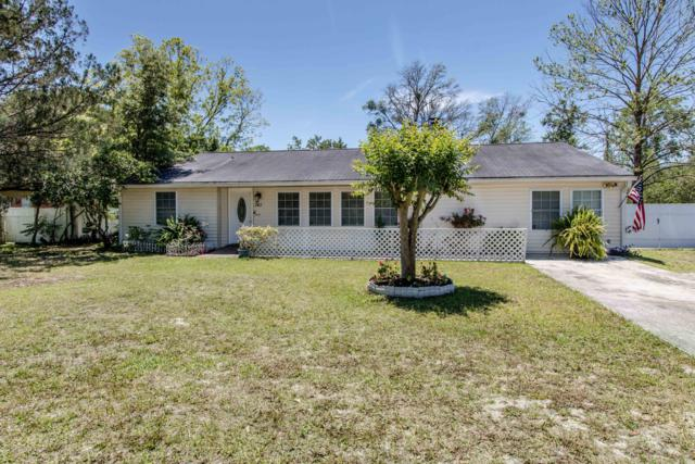 361 Tanglewood Blvd, Orange Park, FL 32065 (MLS #991444) :: The Hanley Home Team