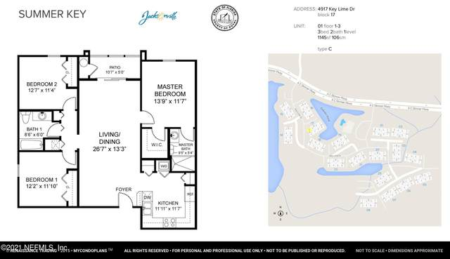 4917 Key Lime Dr #301, Jacksonville, FL 32256 (MLS #1104687) :: Olde Florida Realty Group