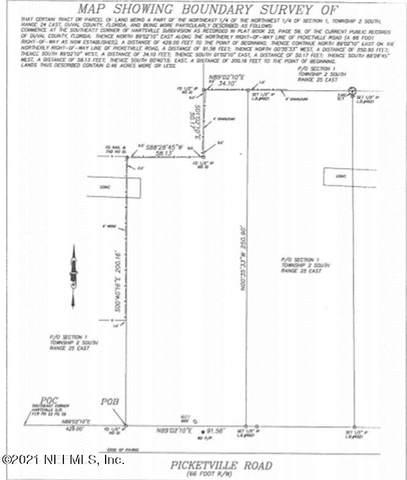 6715 Pickettville Rd, Jacksonville, FL 32254 (MLS #1122124) :: Memory Hopkins Real Estate