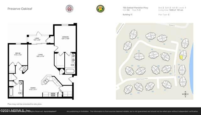 785 Oakleaf Plantation Pkwy #1114, Orange Park, FL 32065 (MLS #1122352) :: Olson & Taylor   RE/MAX Unlimited