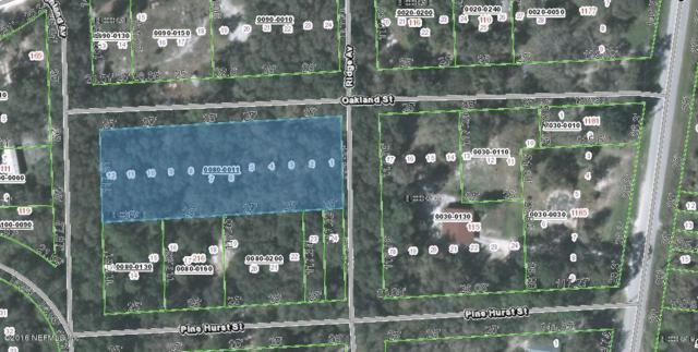 0 Vacant Oakland-Highlands, Crescent City, FL 32112 (MLS #851467) :: The Hanley Home Team