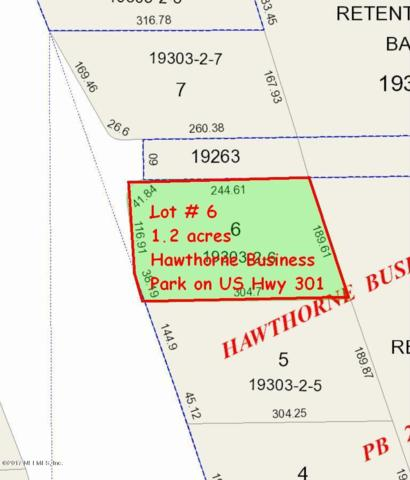 LOT # 6 SE Us Highway 301, Hawthorne, FL 32640 (MLS #868476) :: Berkshire Hathaway HomeServices Chaplin Williams Realty