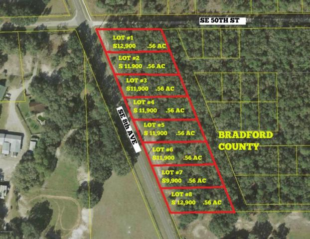 LOT # 1 21B /  SE 8TH Ave, Keystone Heights, FL 32656 (MLS #873602) :: CrossView Realty