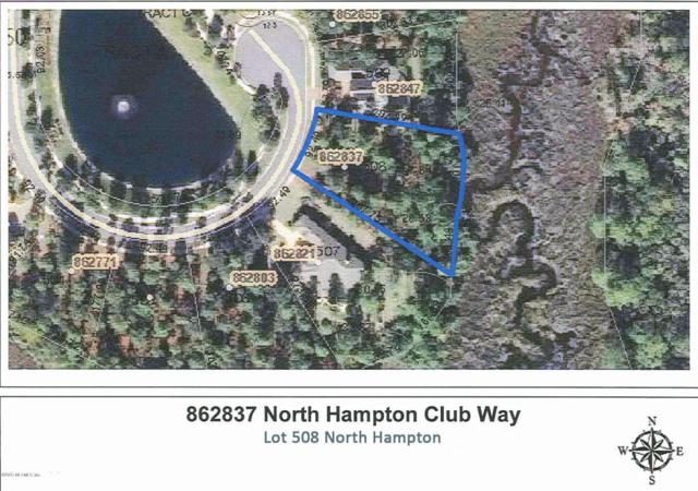 LOT 508 North Hampton Club Way, Fernandina Beach, FL 32034 (MLS #885102) :: CenterBeam Real Estate