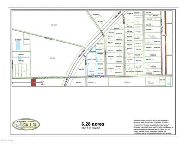 0 Highway 207, East Palatka, FL 32131 (MLS #907359) :: Memory Hopkins Real Estate