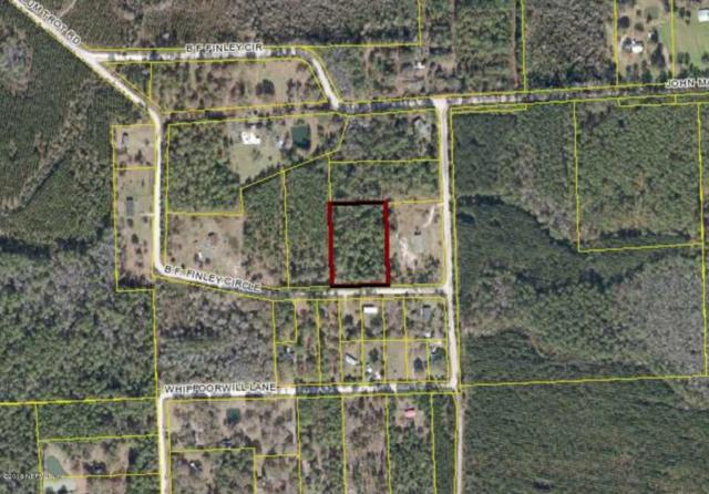 0000 B F Finley Lot 4 Cir, Olustee, FL 32087 (MLS #918405) :: Sieva Realty