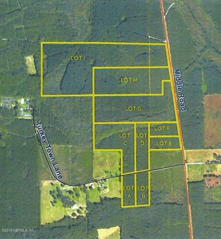 LOT 9 Middle Rd, Callahan, FL 32011 (MLS #925189) :: EXIT Real Estate Gallery