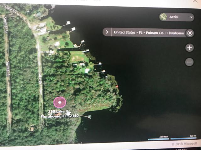 260 Lake Dr, Florahome, FL 32140 (MLS #933800) :: St. Augustine Realty