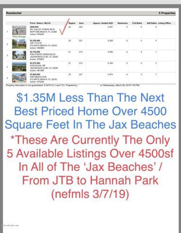 601 Valley Forge Rd N, Neptune Beach, FL 32266 (MLS #976409) :: EXIT Real Estate Gallery
