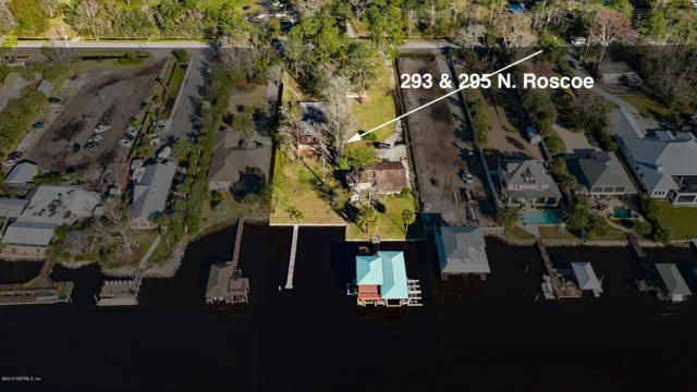 293 & 295 N Roscoe Blvd, Ponte Vedra Beach, FL 32082 (MLS #977026) :: Berkshire Hathaway HomeServices Chaplin Williams Realty