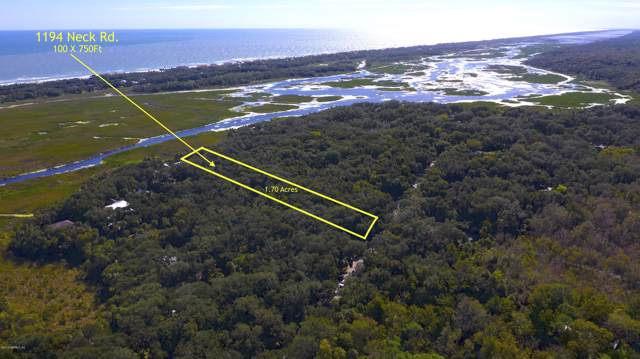 1194 Neck Rd, Ponte Vedra Beach, FL 32082 (MLS #1023610) :: The Volen Group, Keller Williams Luxury International