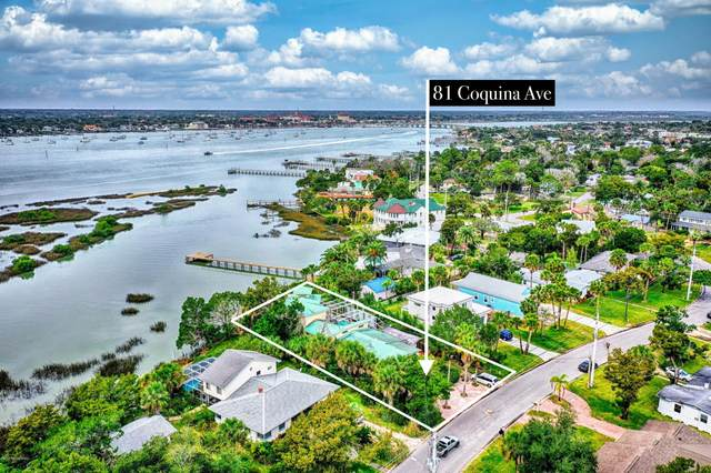 81 Coquina Ave, St Augustine, FL 32080 (MLS #1031120) :: Oceanic Properties