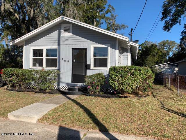 363 W 63RD St, Jacksonville, FL 32208 (MLS #1035310) :: Berkshire Hathaway HomeServices Chaplin Williams Realty