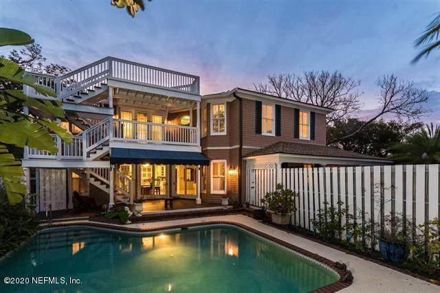 139 Marine St, St Augustine, FL 32084 (MLS #1053949) :: The Volen Group, Keller Williams Luxury International