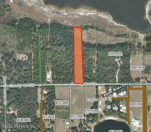 1730 County Road 308, Crescent City, FL 32112 (MLS #1061531) :: Berkshire Hathaway HomeServices Chaplin Williams Realty