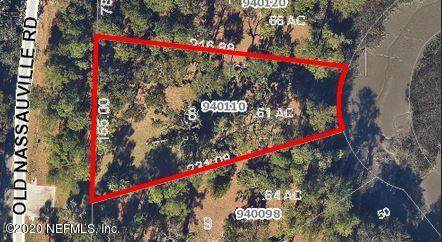 940110 Old Nassauville Rd, Fernandina Beach, FL 32034 (MLS #1070661) :: Military Realty