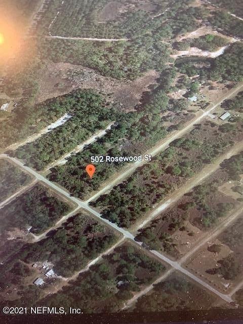 502 Rosewood St, Georgetown, FL 32139 (MLS #1097027) :: Ponte Vedra Club Realty