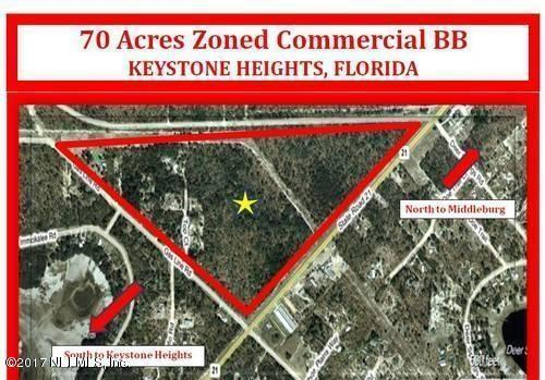 TBD State Road 21, Keystone Heights, FL 32656 (MLS #879503) :: EXIT Real Estate Gallery