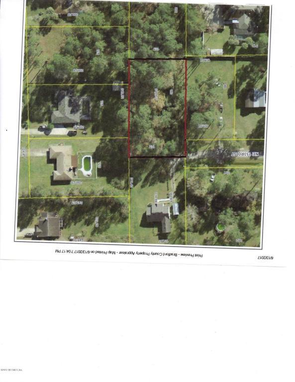 0 NE 153RD St, Starke, FL 32091 (MLS #886735) :: EXIT Real Estate Gallery
