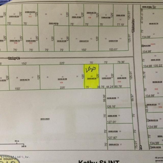 00 Kathy St, Interlachen, FL 32148 (MLS #898349) :: EXIT Real Estate Gallery