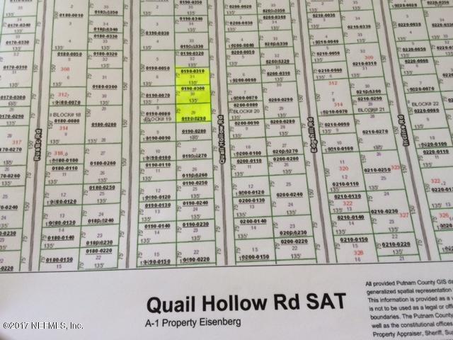 313 Quail Hollow Rd, Satsuma, FL 32189 (MLS #898476) :: Sieva Realty