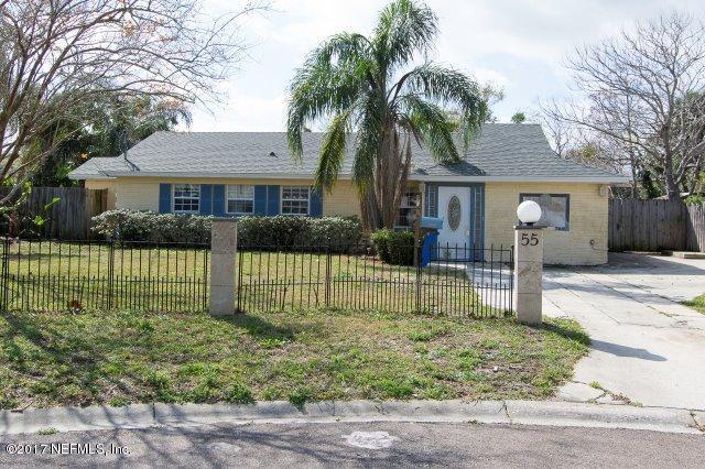 55 Forrestal Cir S, Atlantic Beach, FL 32233 (MLS #901020) :: EXIT Real Estate Gallery