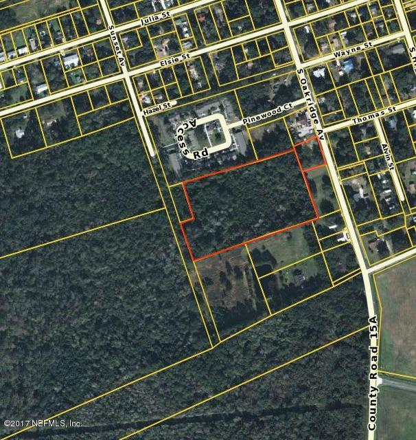 00 Oakridge Ave, GREEN COVE SPRINGS, FL 32043 (MLS #908187) :: EXIT Real Estate Gallery