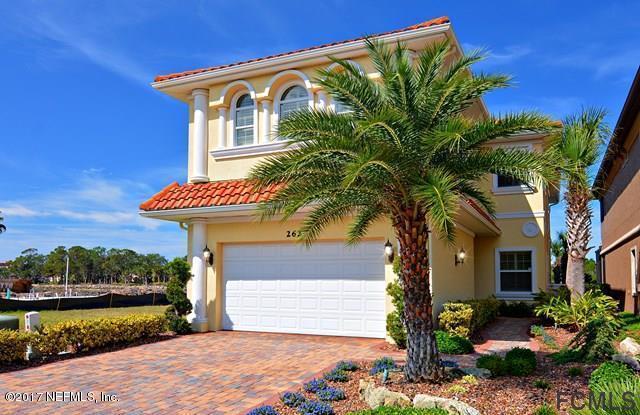 262 Yacht Harbor Dr, Palm Coast, FL 32137 (MLS #909410) :: St. Augustine Realty