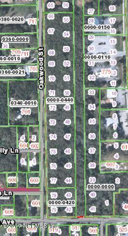 0 Oakwood, Crescent City, FL 32112 (MLS #909929) :: EXIT Real Estate Gallery