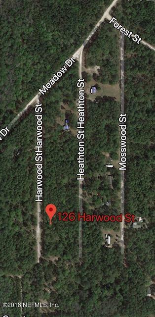 126 Harwood St, Georgetown, FL 32139 (MLS #915197) :: EXIT Real Estate Gallery