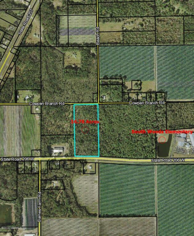 7501 Cowpen Branch Rd, Elkton, FL 32033 (MLS #920618) :: EXIT Real Estate Gallery