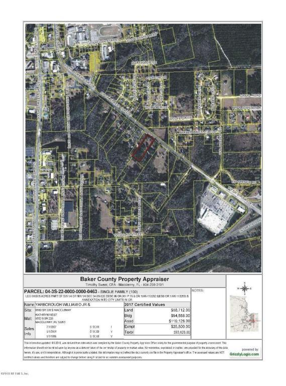 9550 Sr 228 S, Macclenny, FL 32063 (MLS #936666) :: EXIT Real Estate Gallery