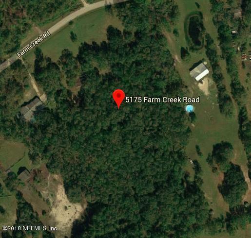 5175 Farm Creek Rd, St Augustine, FL 32092 (MLS #938537) :: EXIT Real Estate Gallery