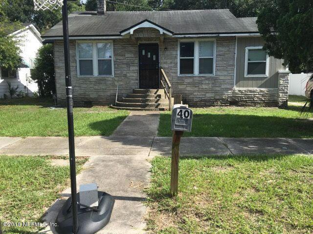 40 E 54TH St, Jacksonville, FL 32208 (MLS #948193) :: EXIT Real Estate Gallery