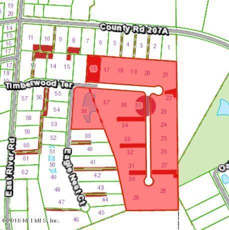 108 Timberwood Ter, East Palatka, FL 32131 (MLS #949914) :: Keller Williams Realty Atlantic Partners St. Augustine
