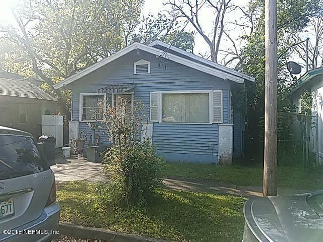 1548 W 23RD St, Jacksonville, FL 32209 (MLS #952490) :: The Hanley Home Team