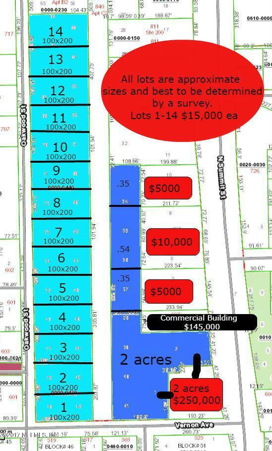 LOT 6 Vernon-Oakwood, Crescent City, FL 32112 (MLS #959022) :: Crest Realty