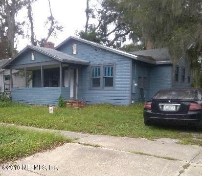 335 W 63RD St, Jacksonville, FL 32208 (MLS #966508) :: Ancient City Real Estate