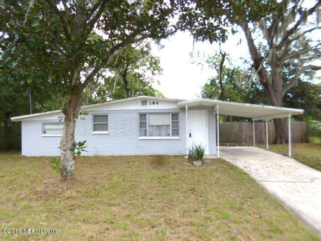 184 Ursa St, Orange Park, FL 32073 (MLS #967169) :: EXIT Real Estate Gallery