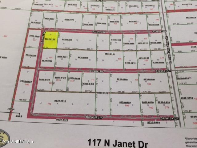 117 N Janet Rd, Crescent City, FL 32112 (MLS #967522) :: Sieva Realty