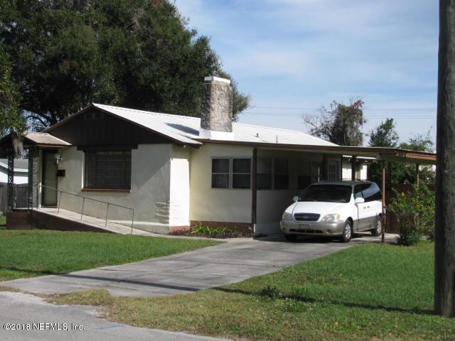 900 Oakwood St, Crescent City, FL 32112 (MLS #971224) :: The Hanley Home Team