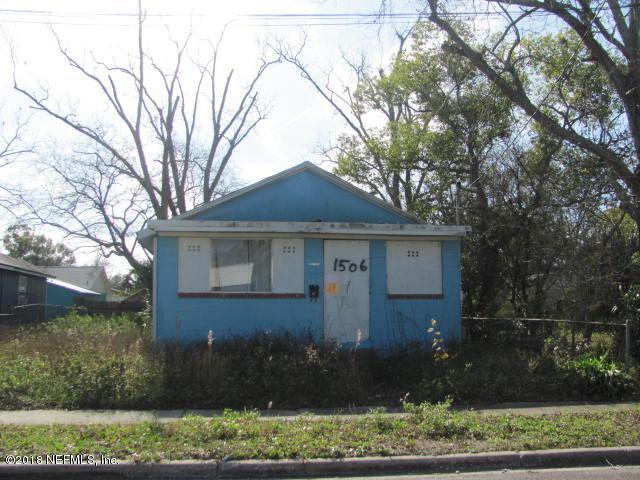 1506 W 16TH St, Jacksonville, FL 32209 (MLS #972093) :: CrossView Realty