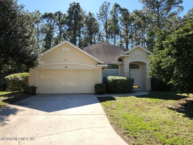 405 Buckeye Ln E, St Johns, FL 32259 (MLS #974854) :: CenterBeam Real Estate