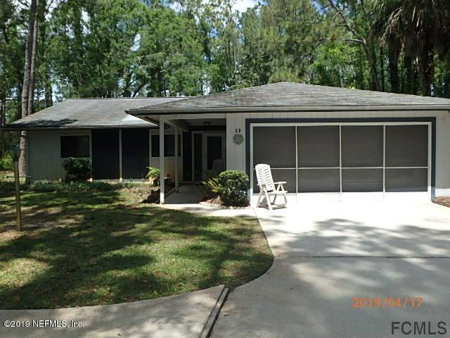 11 Willow Pl, Palm Coast, FL 32164 (MLS #992698) :: The Edge Group at Keller Williams