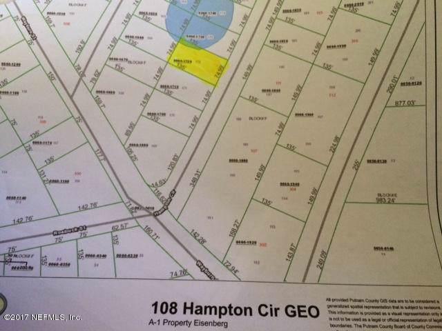 108 Hampton Cir, Georgetown, FL 32139 (MLS #898352) :: The Every Corner Team | RE/MAX Watermarke